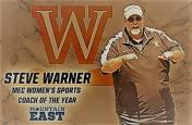 Steve Warner named MEC Women's Sports Coach of the Year