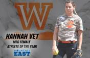 Hannah Vet Named MEC Female Athlete of the Year