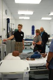 The School of Nursing Celebrates Opening of the Emergency Room Simulation Lab